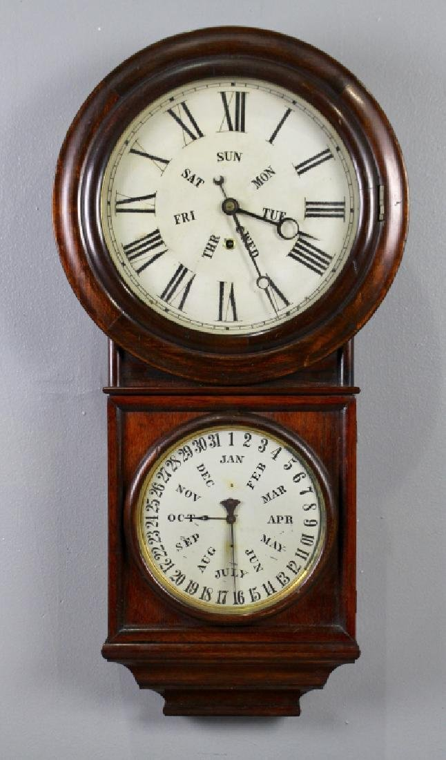 E. N. Welch Spring & Co. # 4 Calendar Clock