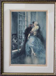 Louis Icart 18881950 Dry Point Etching