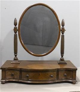 Mahogany Shaving Mirror