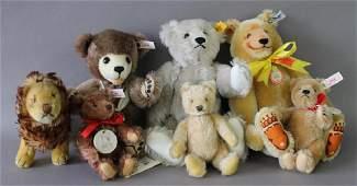 Collection of Steiff Animals