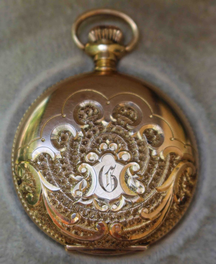 14K Gold Lady's Elgin Pocket Watch