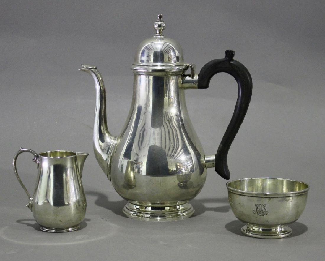 Tiffany & Co. Makers Sterling Coffee Service