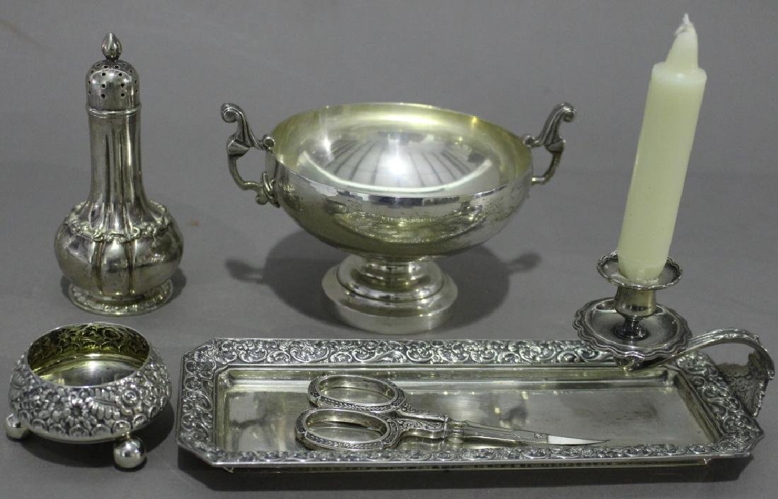 Group of Tiffany Silver