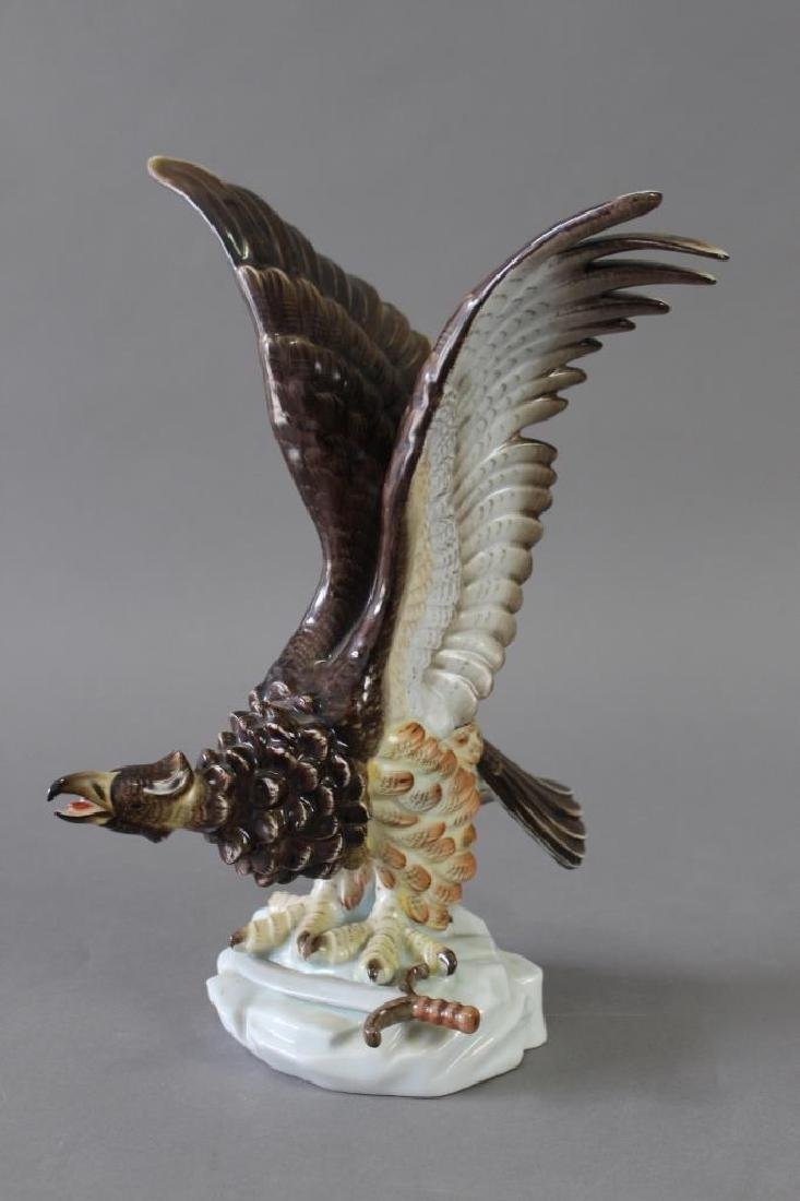 Herend Hand Painted Porcelain Eagle