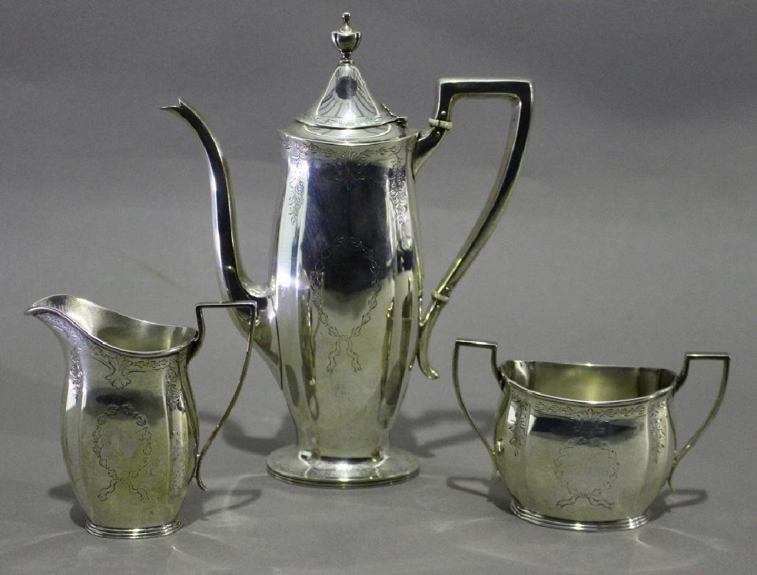 Bigelow and Kennard Sterling Demitasse Set