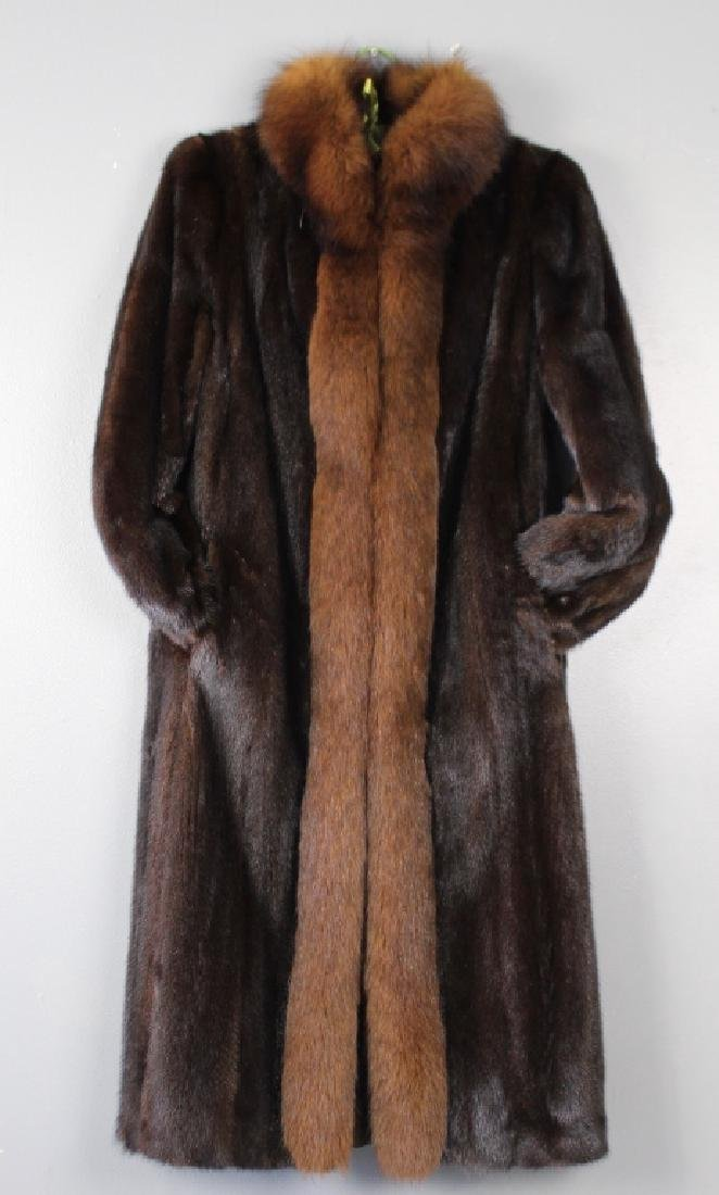 Fine 3/4 Length Mink Coat