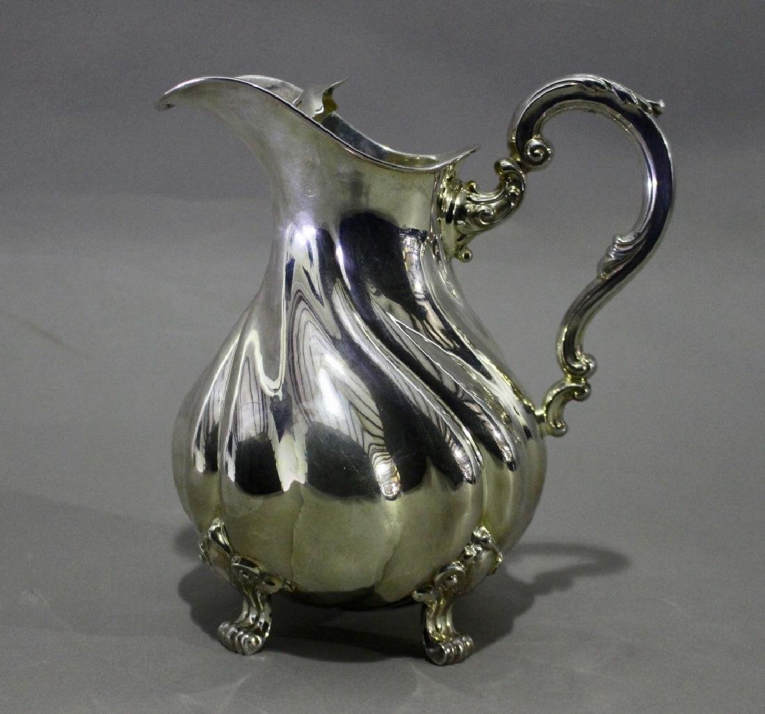 Art Deco Silver Water Pitcher