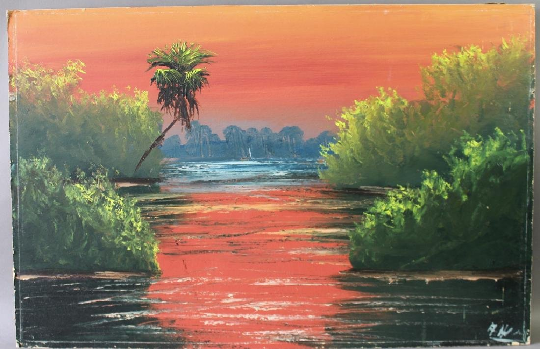 Al Hair, Florida Highwaymen Artist