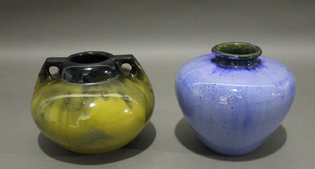 Two Fulper Pottery Vases