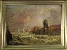 Dutch Oil on Tin Painting 1834