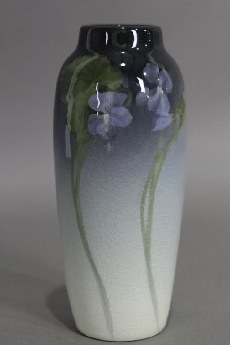 Rookwood Iris Vase by Ed Diers
