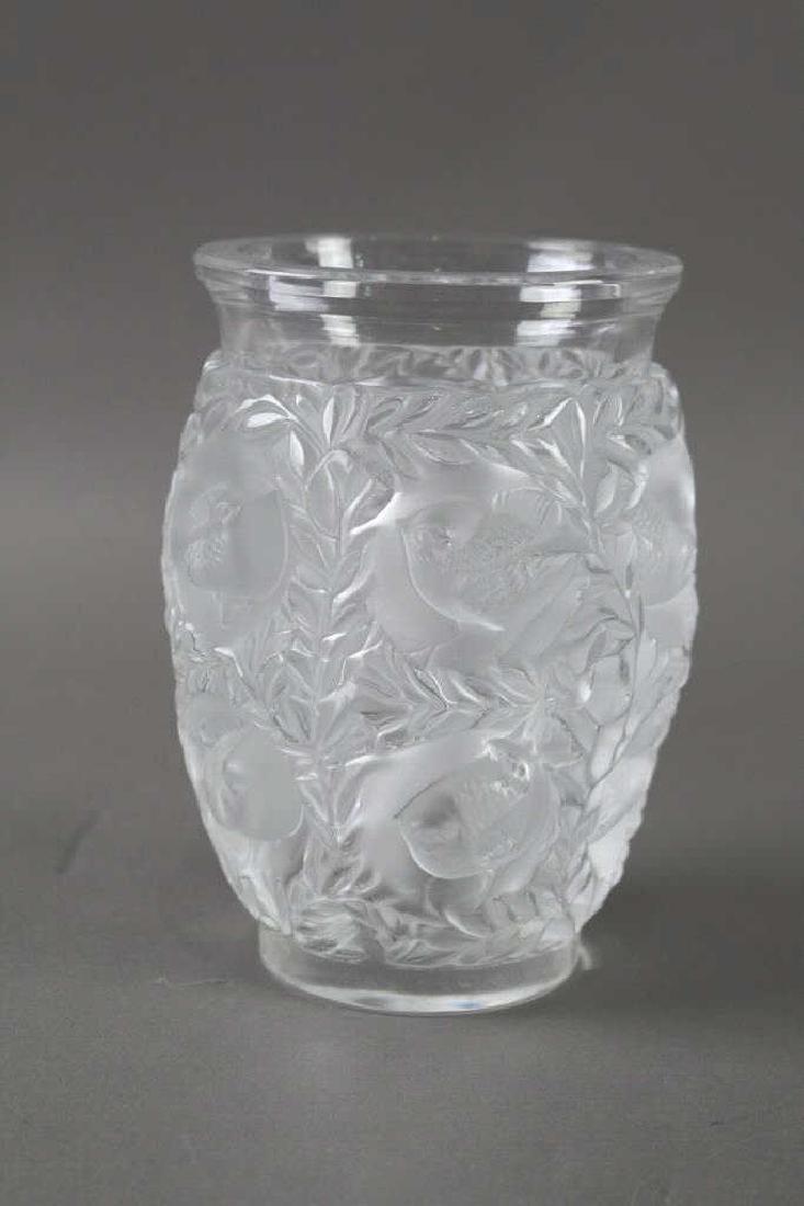 Lalique, France Bagatelle Vase