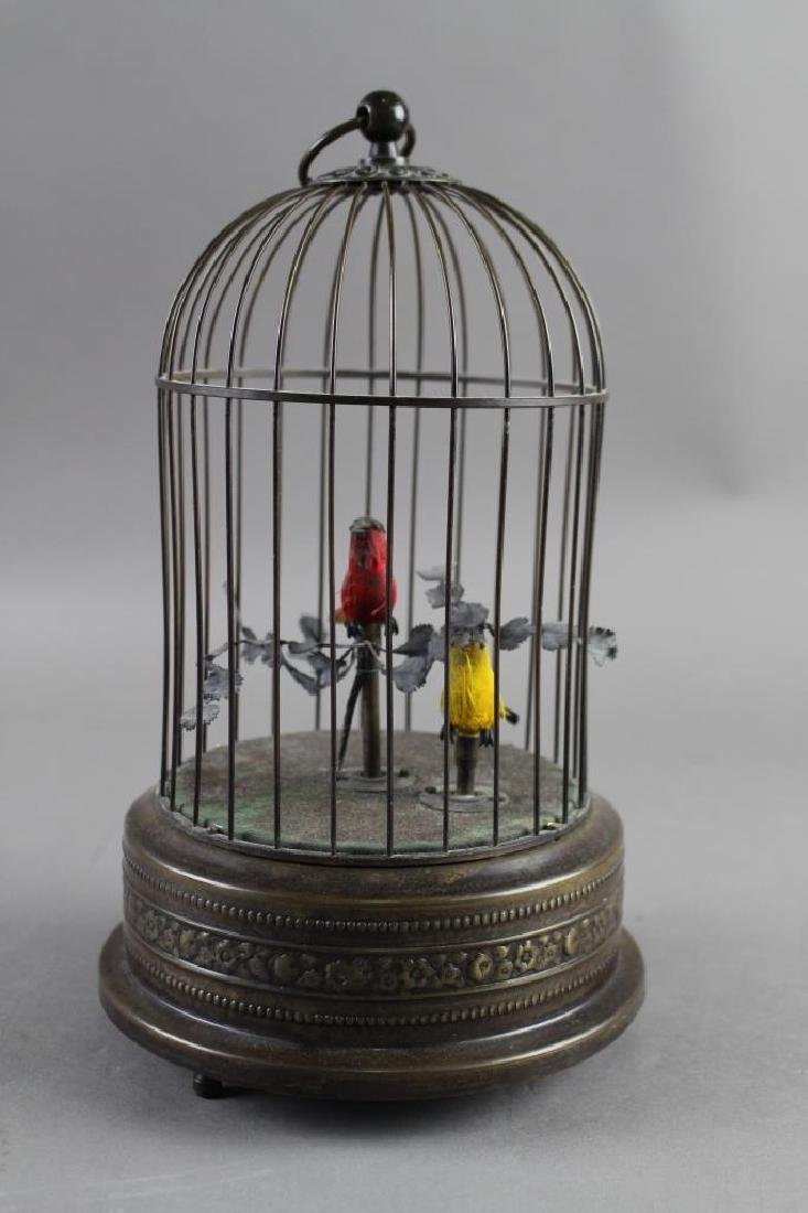 Automation Birds in Cage