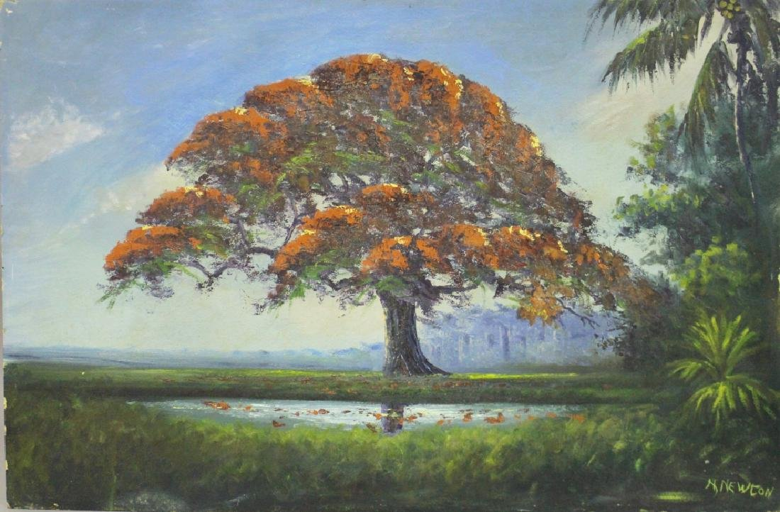 Roy McLendon, Florida Highwaymen Painting