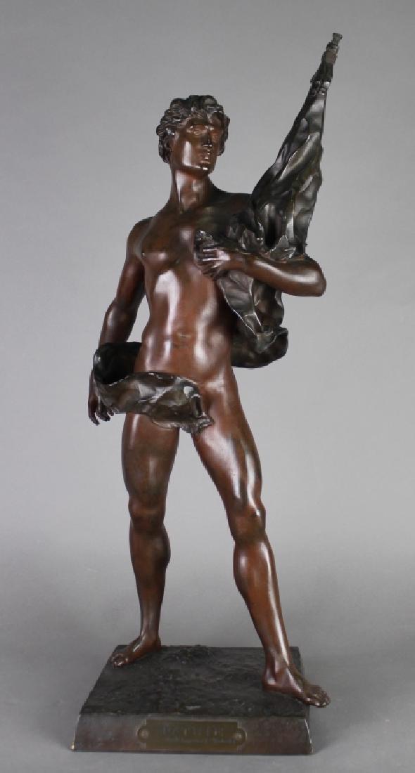 Emile Laporte, 1858-1907, French Bronze