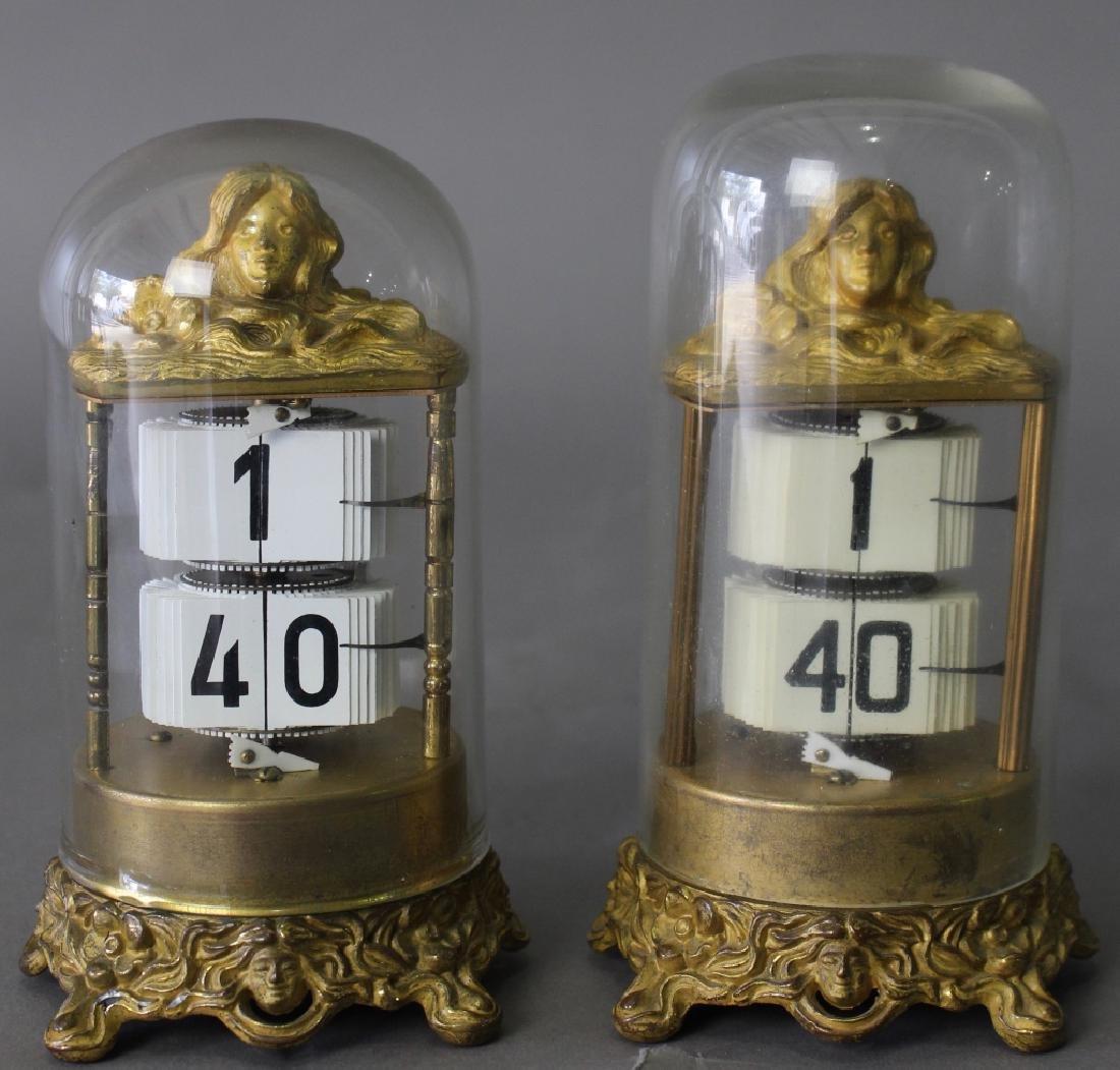 """Two Ansonia """"Plato"""" Clocks"""