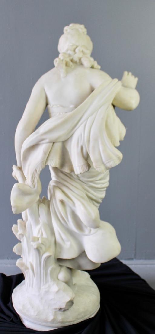 Biggi Fausto, White Marble Statue - 3