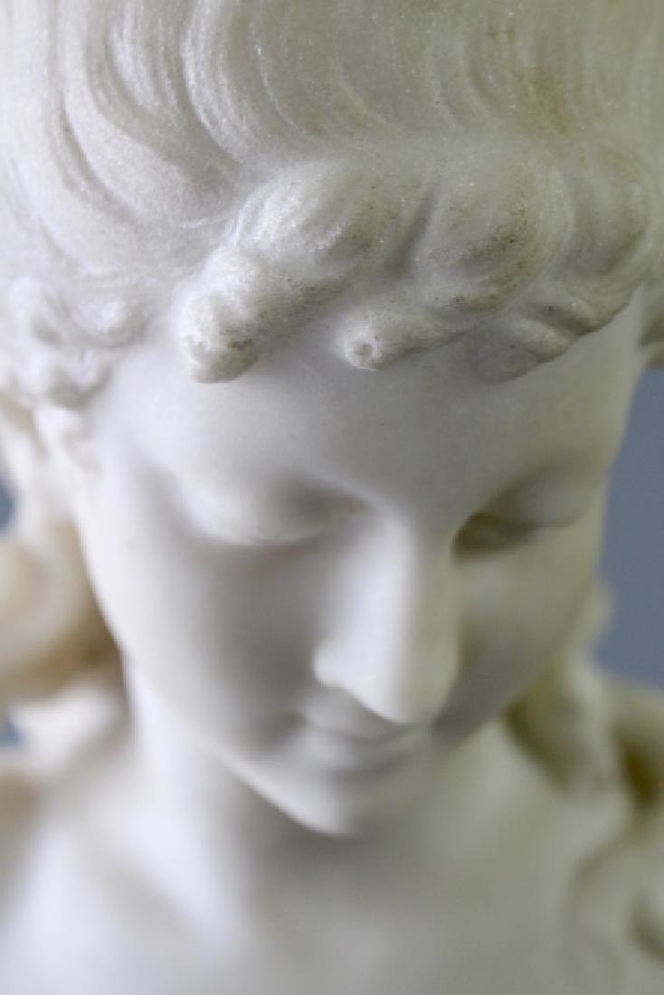 Biggi Fausto, White Marble Statue - 5