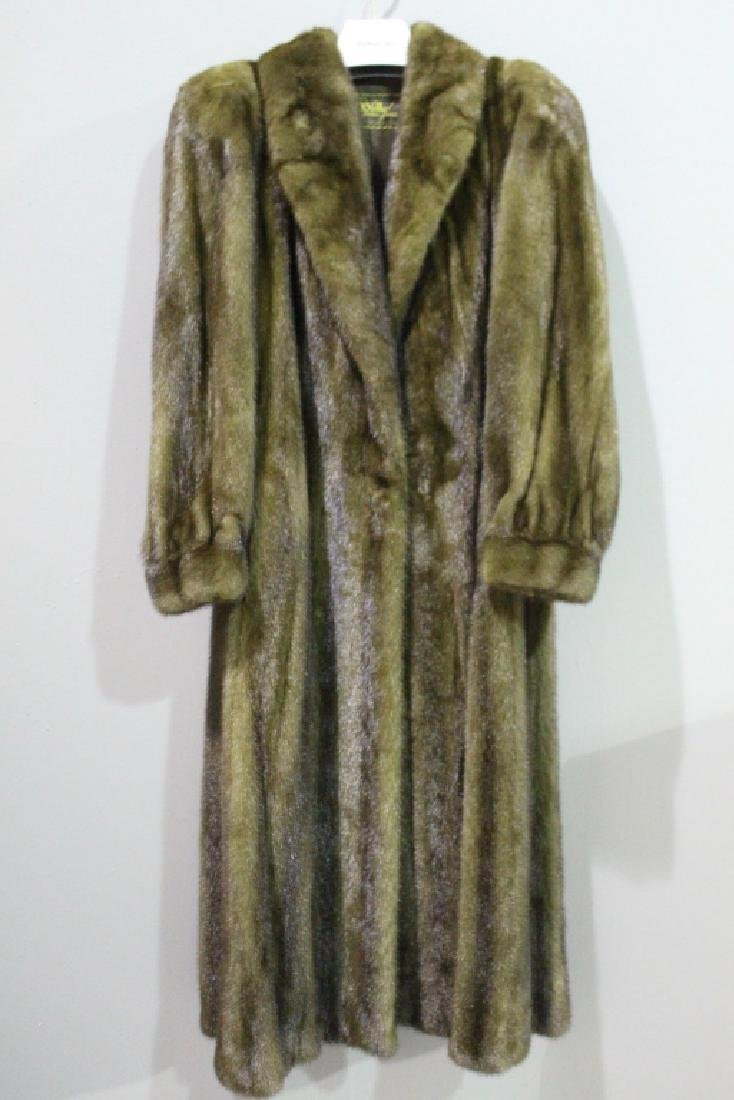 Fine Full Length Mink Coat