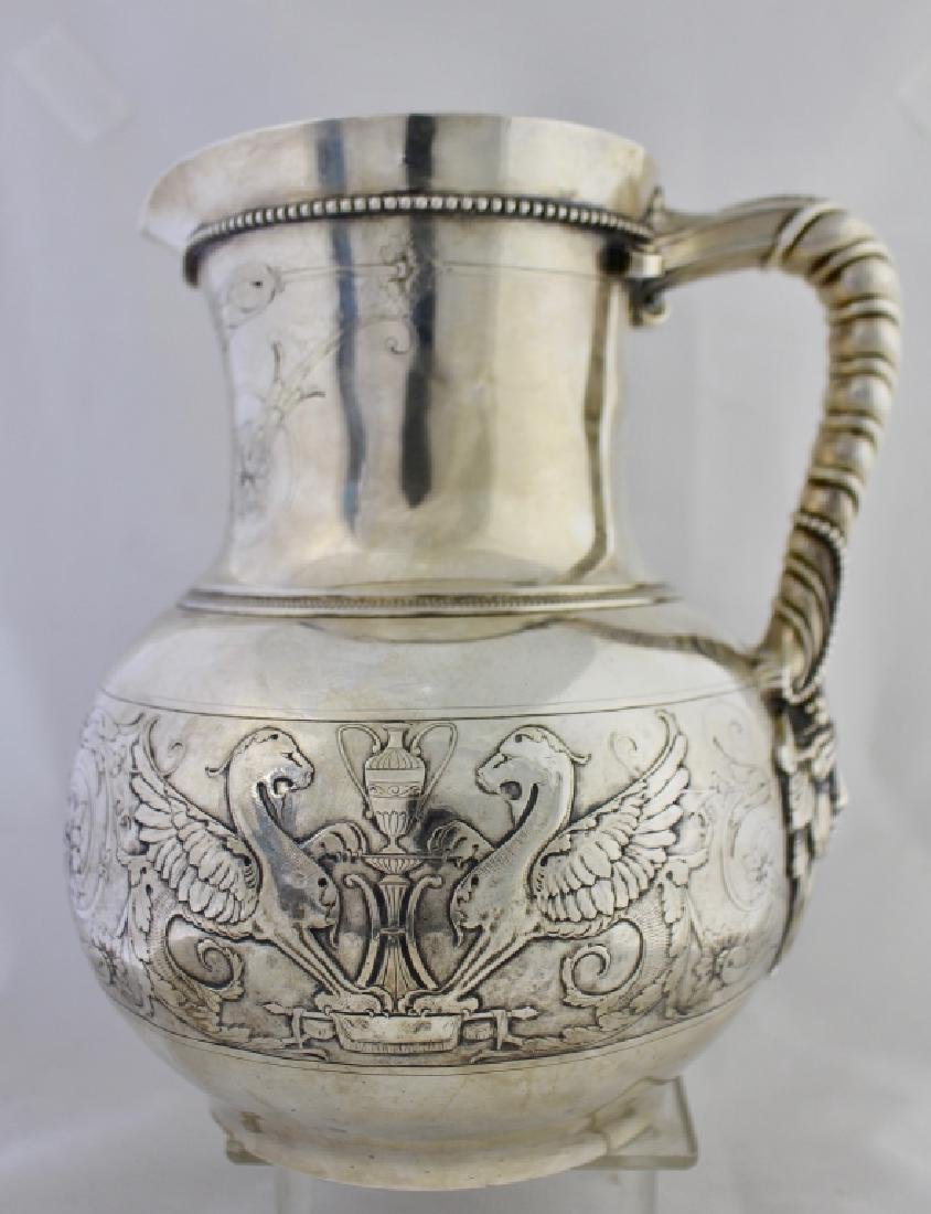 Important Tiffany & Co. Sterling Water Pitcher