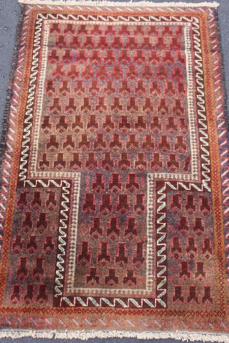Early Dokhtar-e-Ghazi Beluch Prayer Rug
