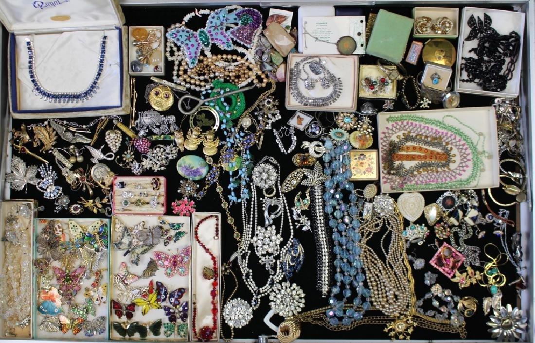 Huge Group of Costume Jewelry