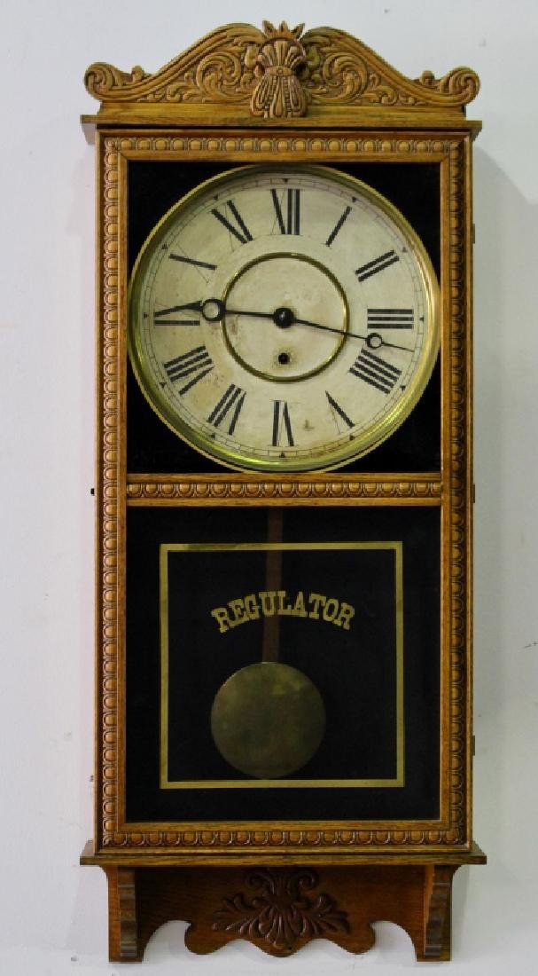 Gilbert Wall Regulator Clock