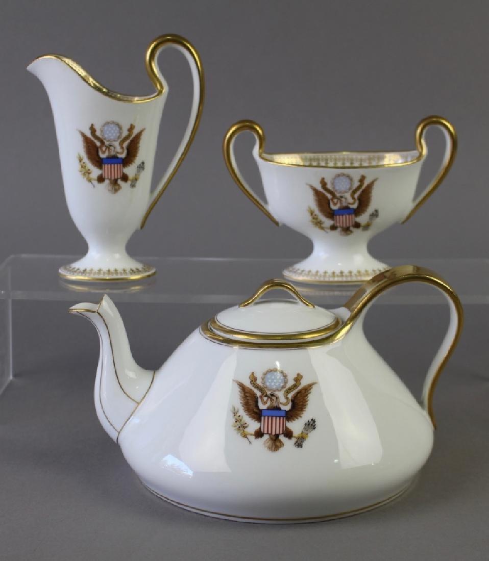 Presidential Seal 3 Piece Tea Set