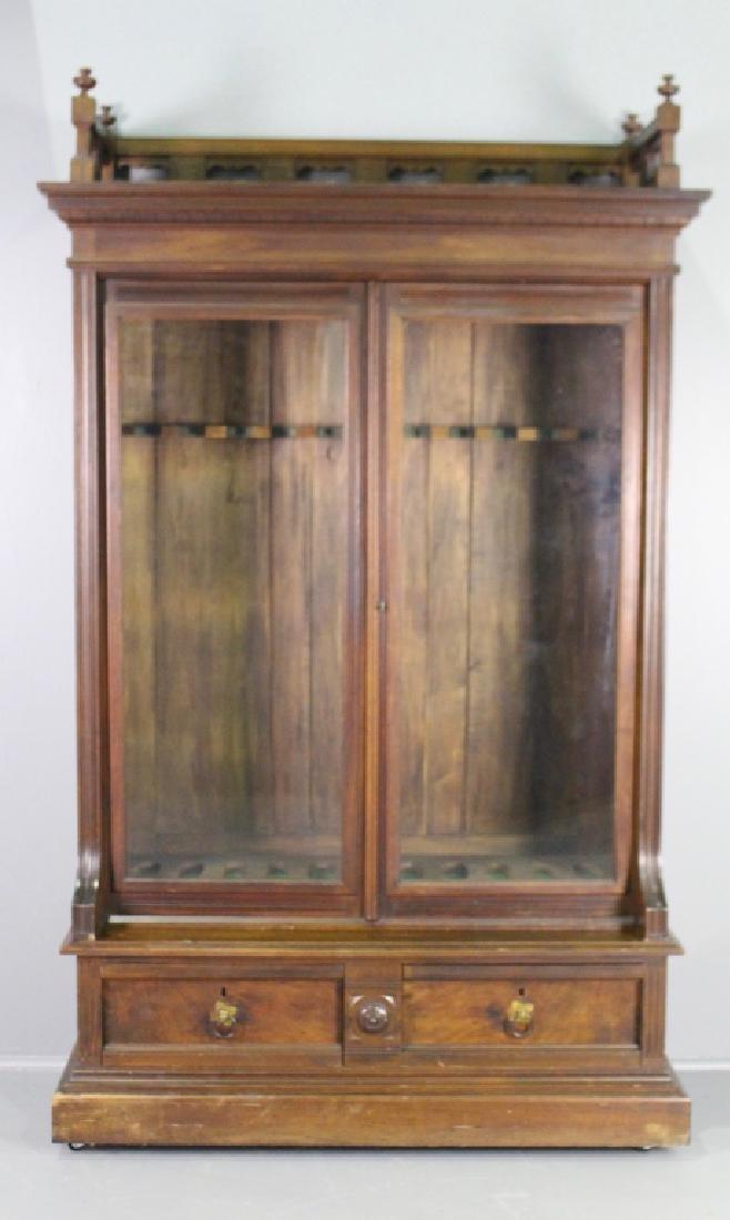 Eastlake Victorian Gun Cabinet