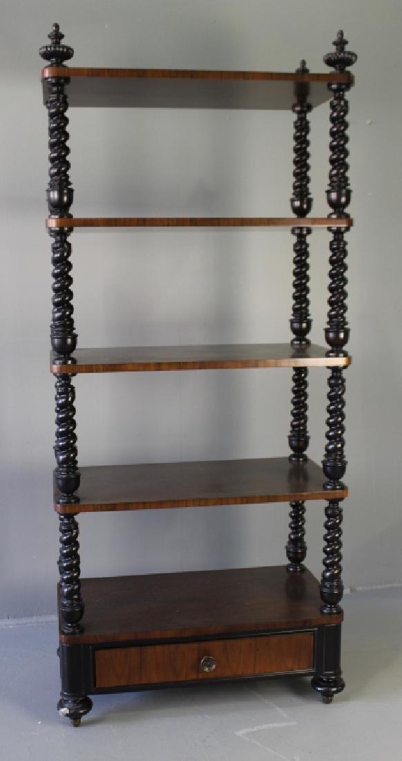 Contemporary Five Shelf Etagere