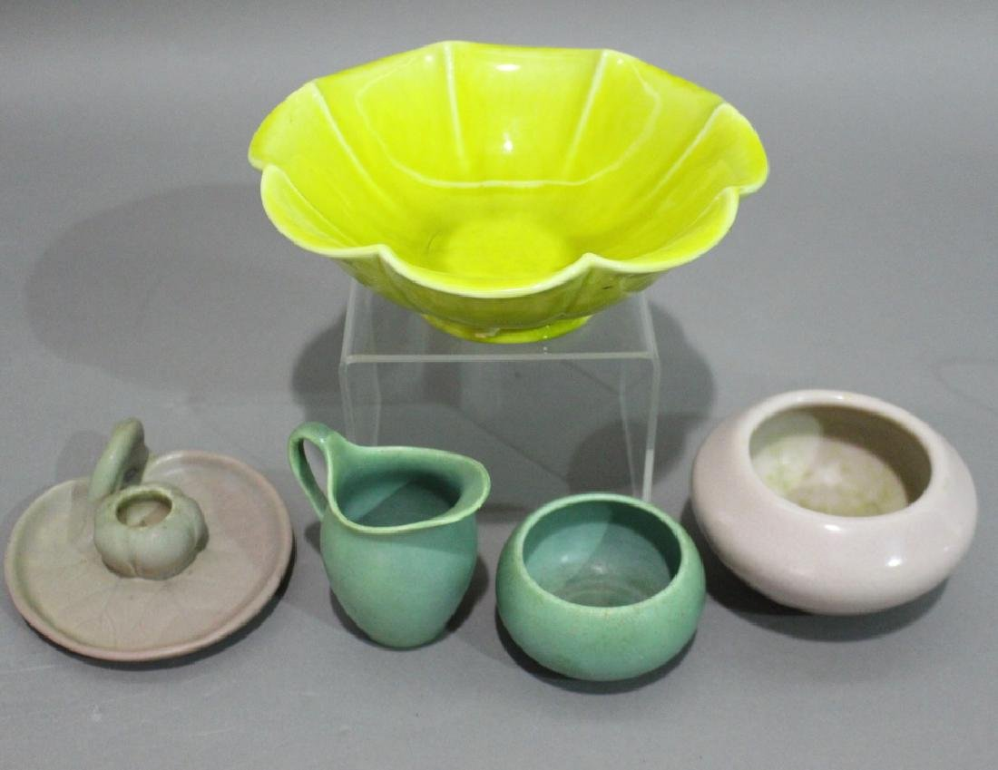 Rookwood Pottery Group of Five