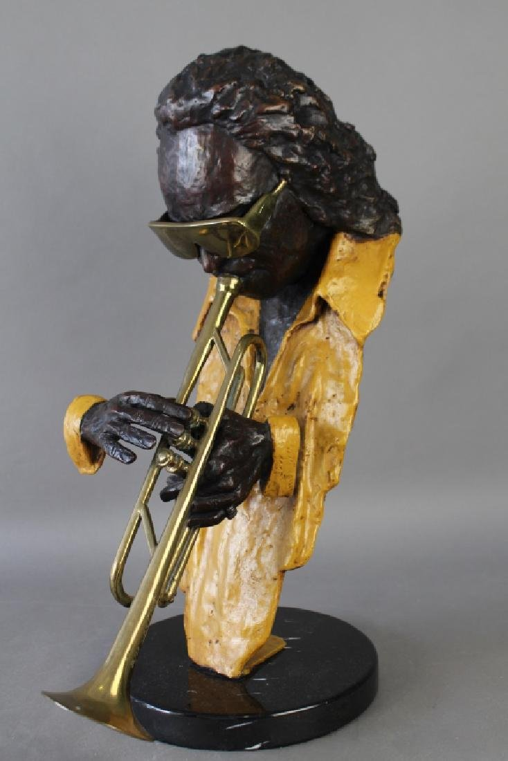 Ed Dwight, Bronze Sculpture of Miles Davis