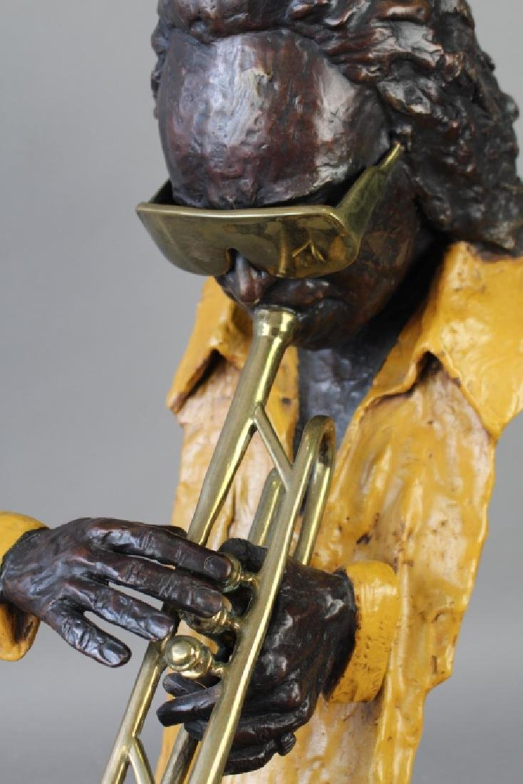 Ed Dwight, Bronze Sculpture of Miles Davis - 2