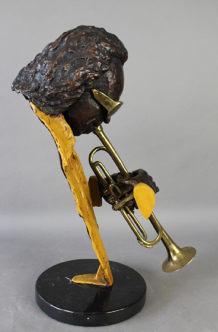 Ed Dwight, Bronze Sculpture of Miles Davis - 3