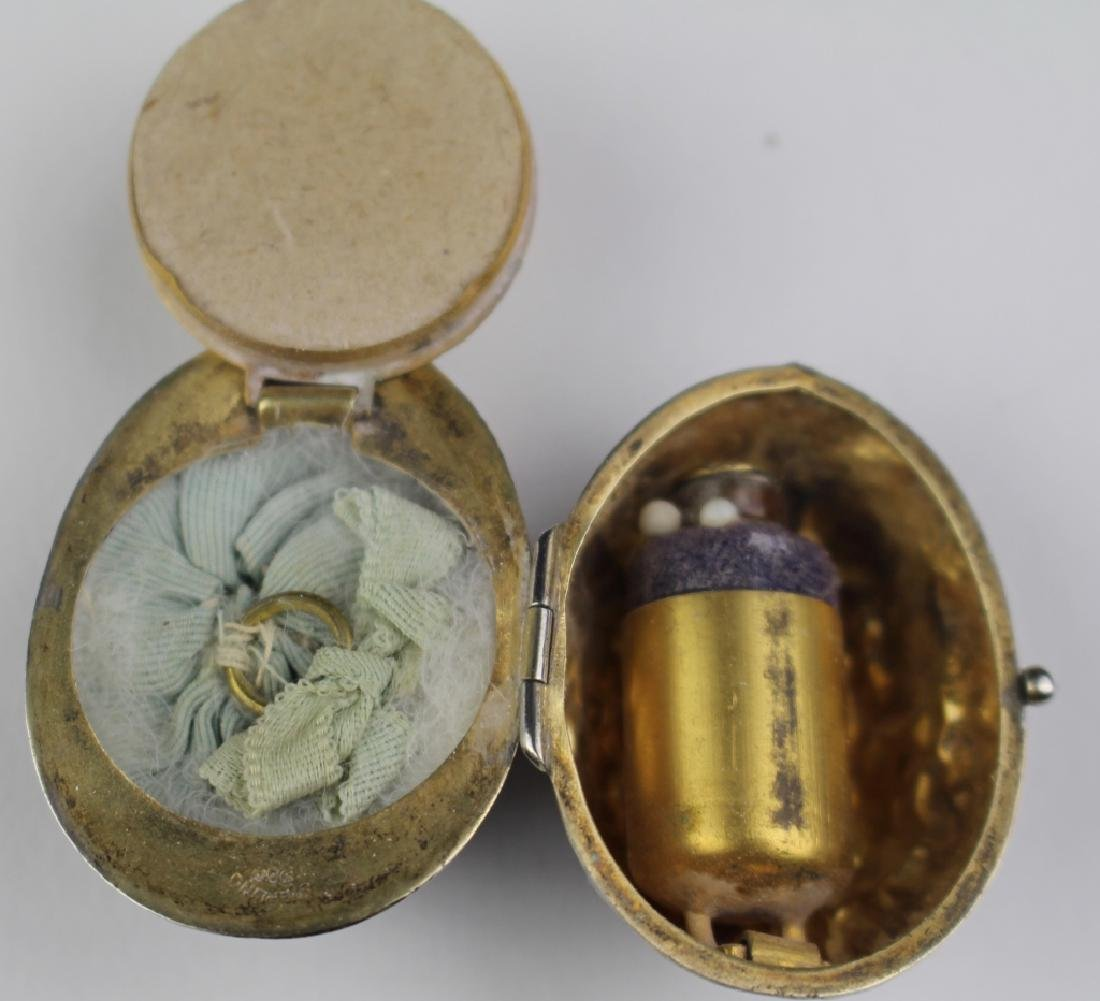 Sterling Compact & Perfume Pendant - 4