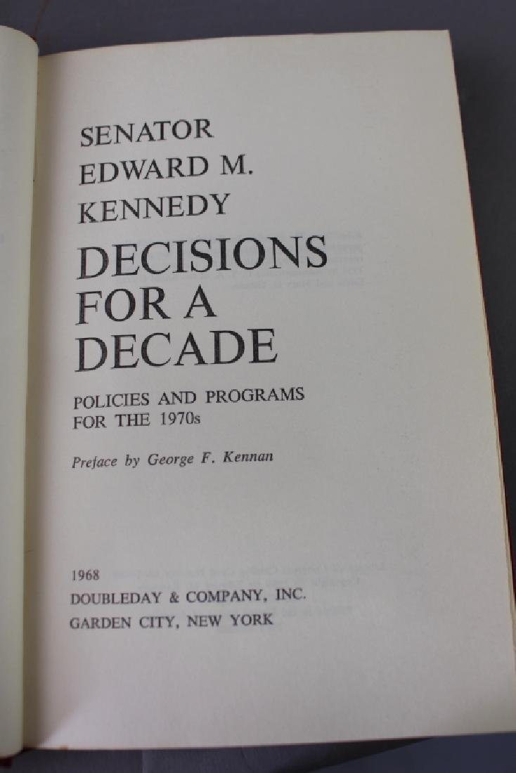 Edward M. Kennedy First Edition Book - 5