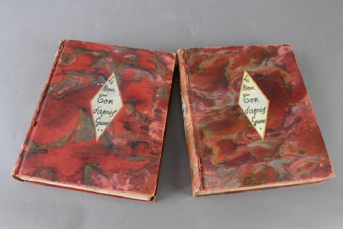 """Two Volumes """"Le Bon Ton d'apres-guerre"""", - 10"""