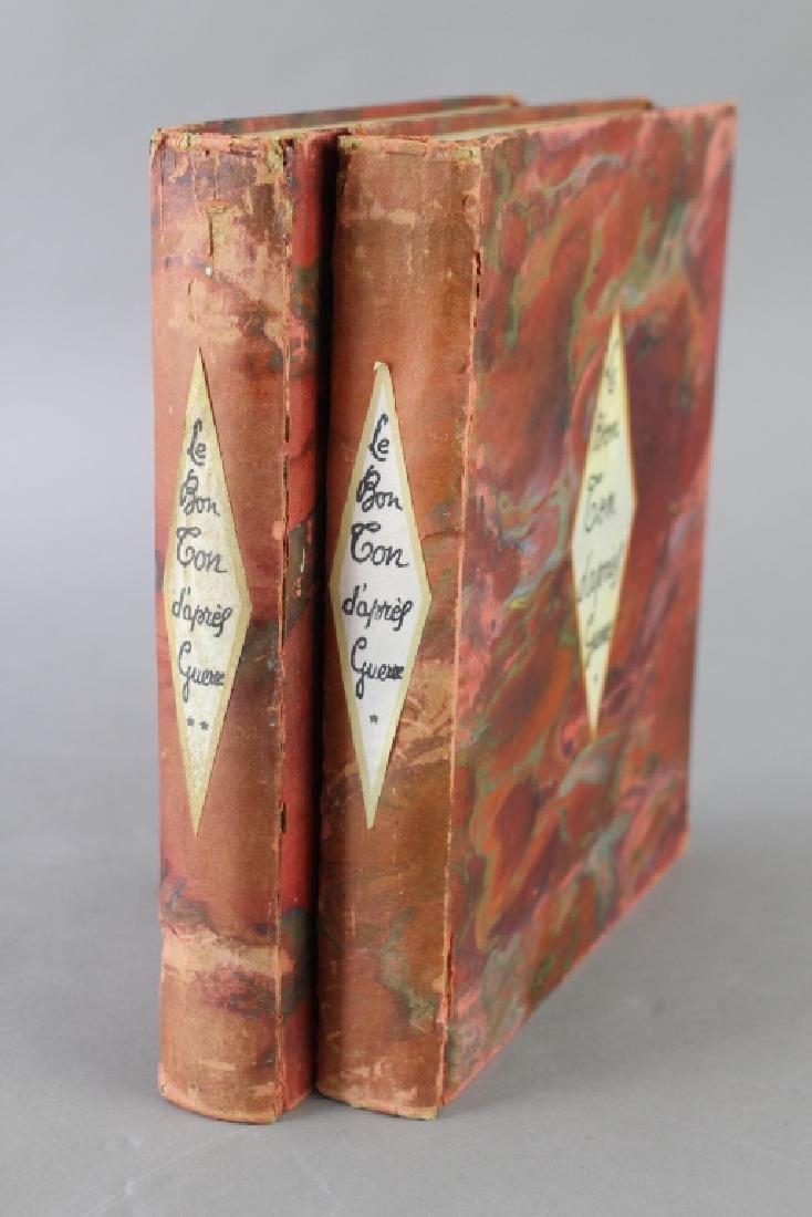 """Two Volumes """"Le Bon Ton d'apres-guerre"""", - 2"""