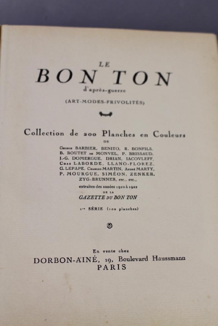 """Two Volumes """"Le Bon Ton d'apres-guerre"""", - 4"""