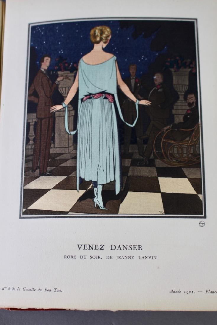 """Two Volumes """"Le Bon Ton d'apres-guerre"""", - 9"""