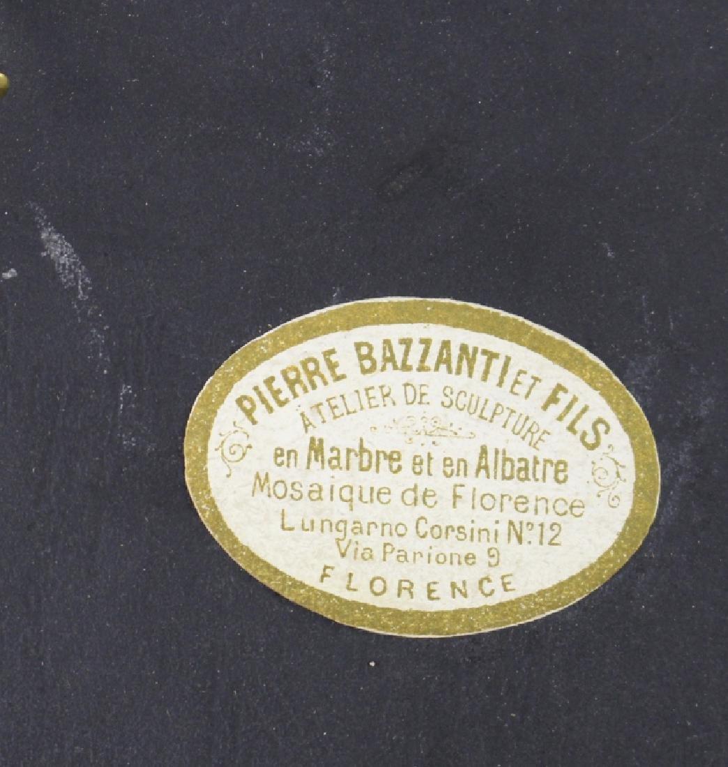 Pietra Dura Scenic Plaque by Pierre Bazzanti - 4