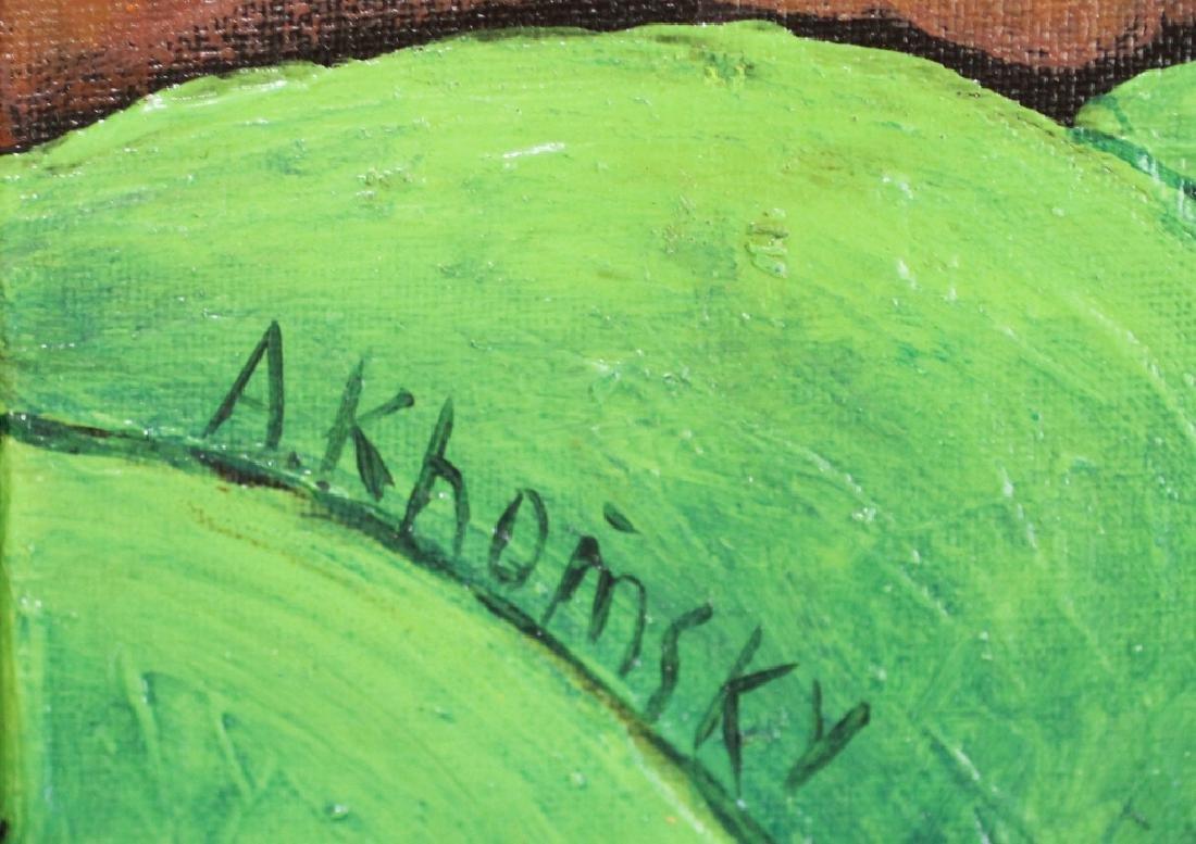 Alexander Khomsky, B. 1954 Oil on Canvas - 2