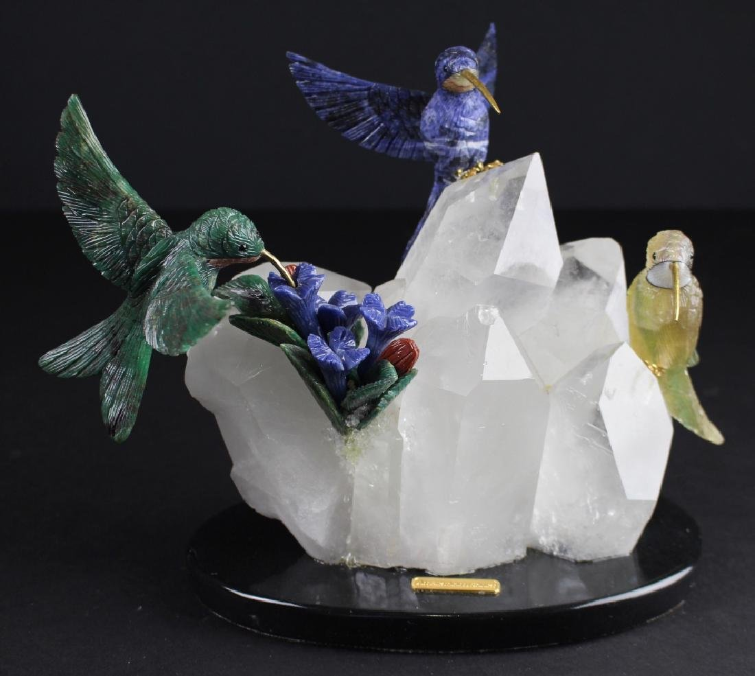 Amsterdam Sauer, Group Sculpture of Hummingbirds