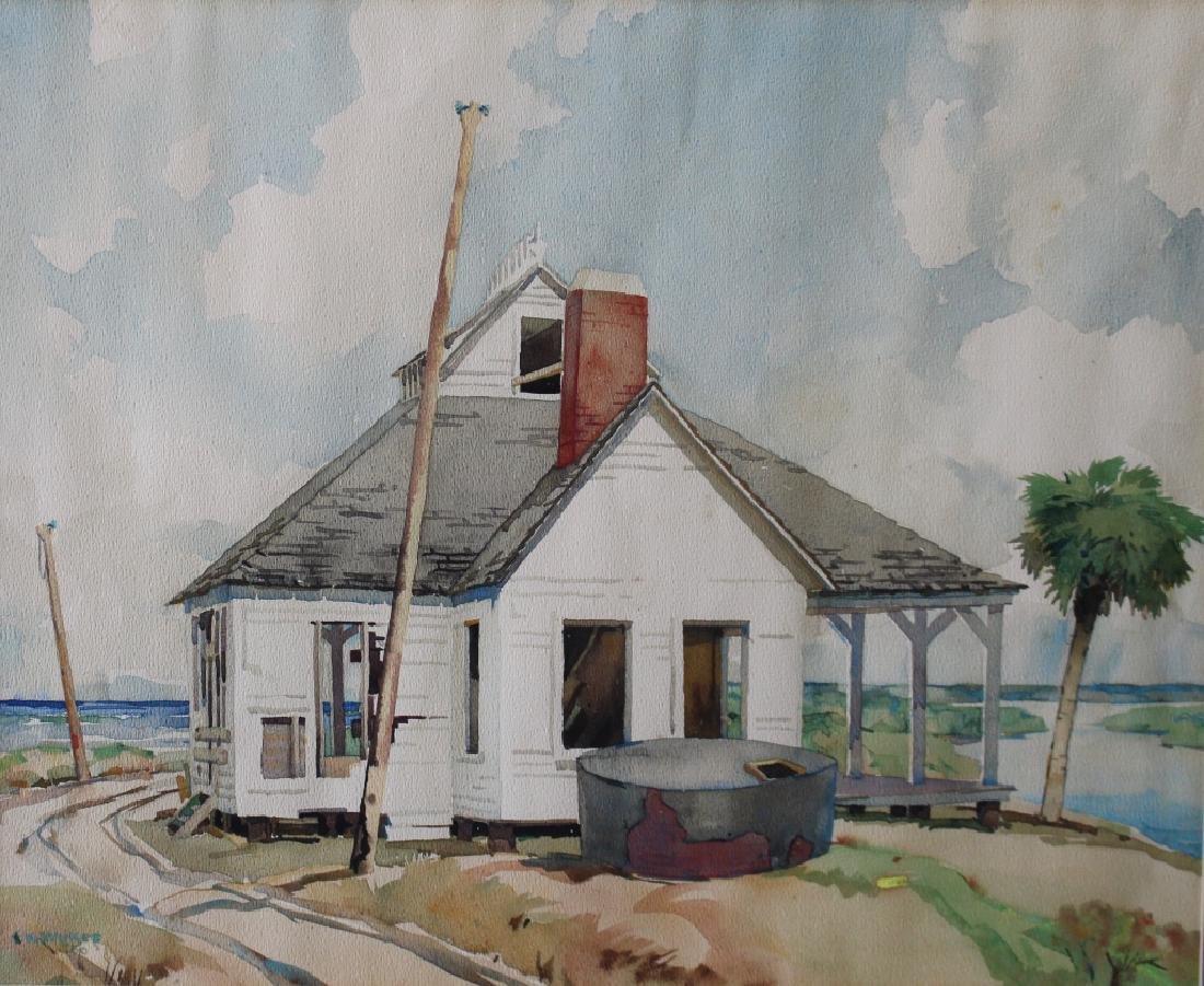 Frederick Kitland Wykes, 1905-1982, Watercolor - 2