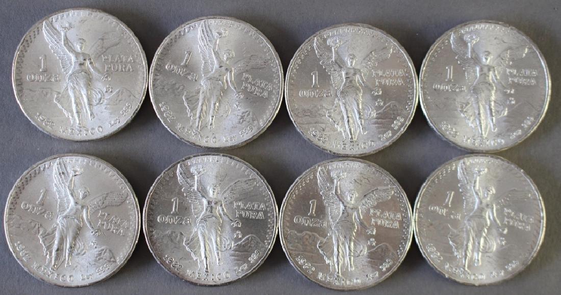 (60) Mexican One Ounce .999 Silver Libertad Coins - 2