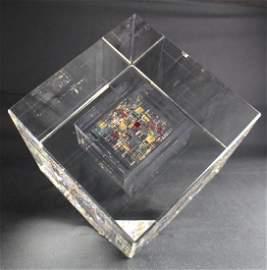 Jon Kuhn, 1949, Art Glass Sculpture
