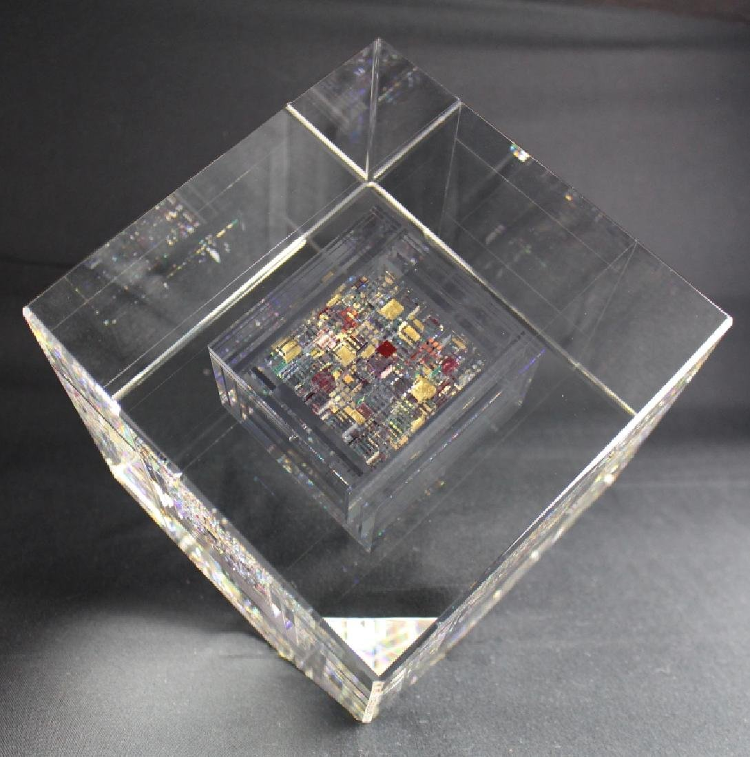 Jon Kuhn, 1949, Art Glass Sculpture