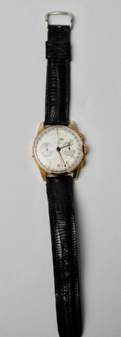 Breitling Datora 18K Gold Chronograph Watch - 2