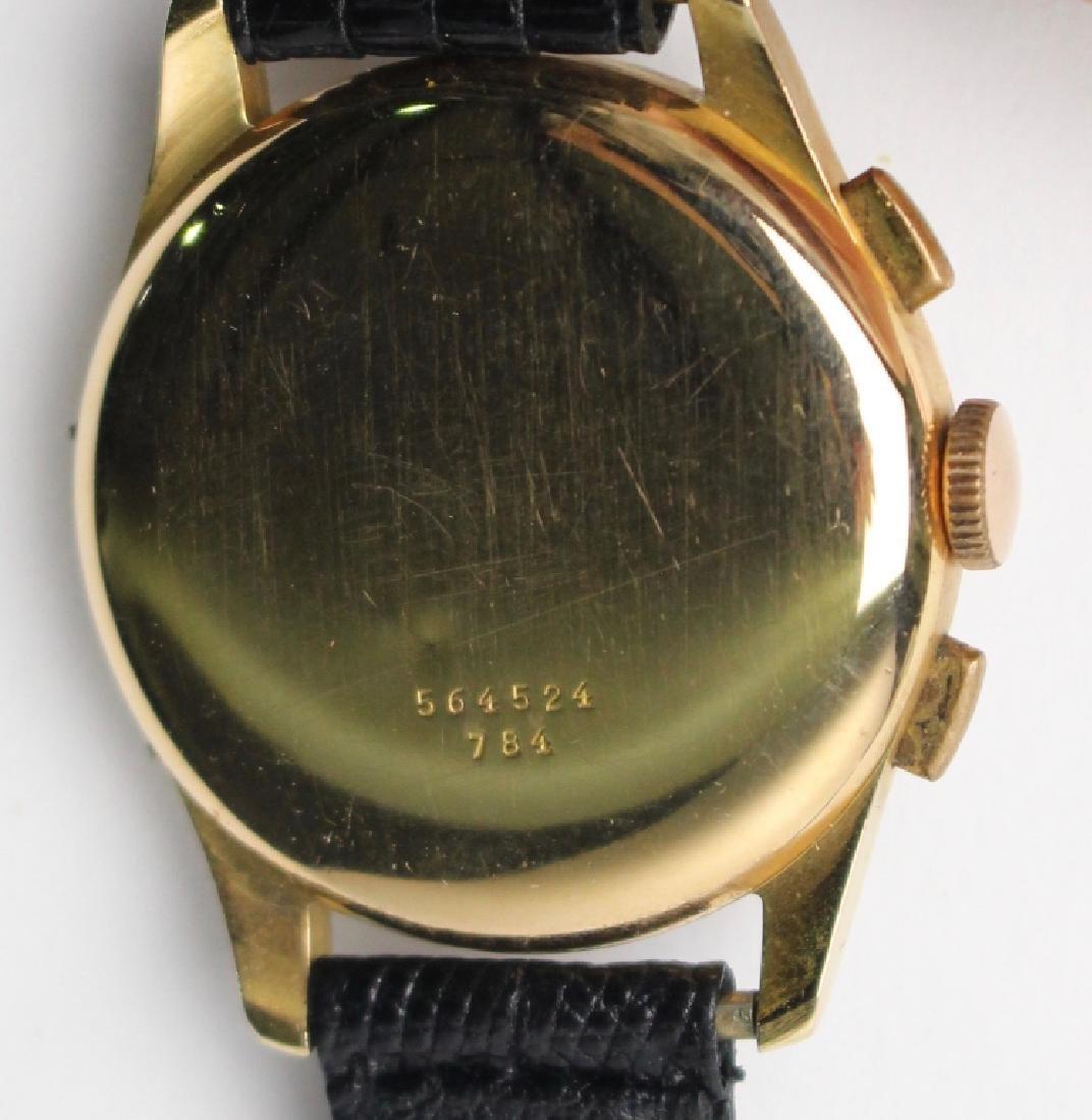 Breitling Datora 18K Gold Chronograph Watch - 3