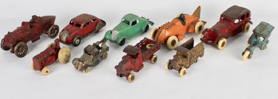 10 Vintage Toy Cars and Trucks